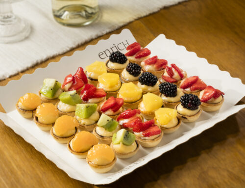 Cassoletes de fruita